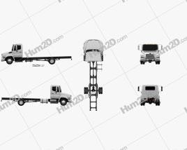 Hino 198 Chassis Truck 2011