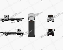 Hino 258 ALP Tow Truck 2007