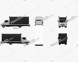 Hino 185 Box Truck 2006