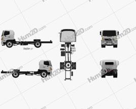 Hino 500 Chassis Truck 2018