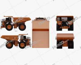 Hitachi EH5000AC-3 Dump Truck 2012