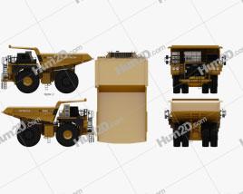 Hitachi EH3500AC-3 Dump Truck 2020 clipart