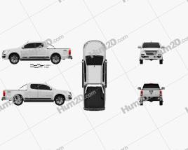 Holden Colorado Space Cab LTZ 2016