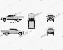 Holden Colorado LS Crew Cab Alloy Tray 2016