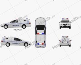 Holden Commodore ute Evoke Police 2013