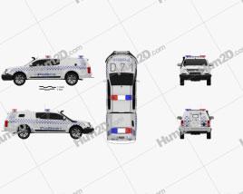 Holden Colorado Crew Cab Divisional Van 2016