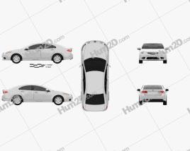 Honda Accord Sedan 2011 car clipart