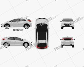 Honda Civic EU 2012