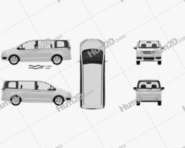 Honda Stepwgn RK 2012 clipart