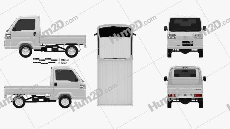 Honda Acty (Vamos) Truck 2012
