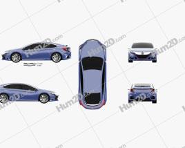 Honda B 2014 car clipart