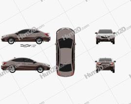 Honda Crider 2014 car clipart