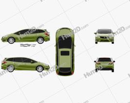 Honda Jade 2014 Clipart