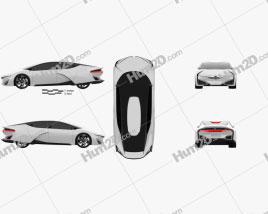Honda FCEV 2013