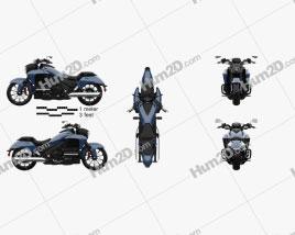 Honda Valkyrie GL1800C 2015