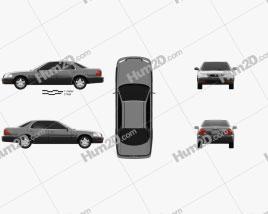 Honda Saber (UA1) 1995