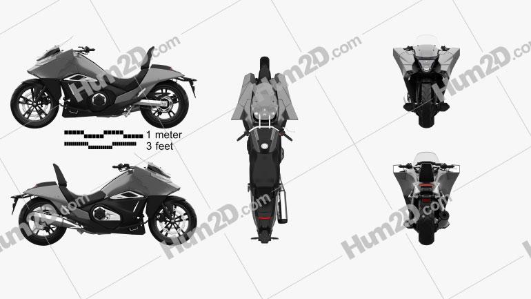 Honda NM4 Vultus 2014 Moto clipart