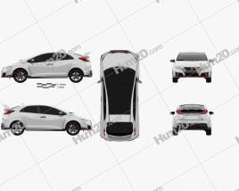 Honda Civic Type-R hatchback 2015