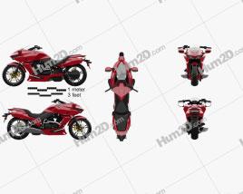 Honda DN-01 2009 Motorcycle clipart