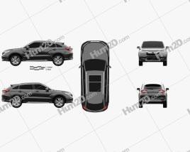 Honda Avancier 2016 car clipart