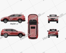 Honda CR-V Touring 2017 car clipart