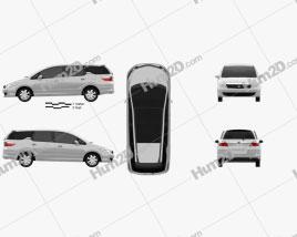 Honda Airwave 2005 clipart