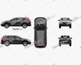 Honda CR-V LX 2017 car clipart