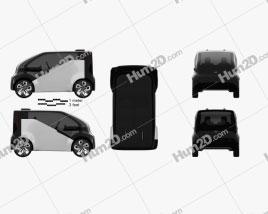 Honda NeuV 2017 Clipart