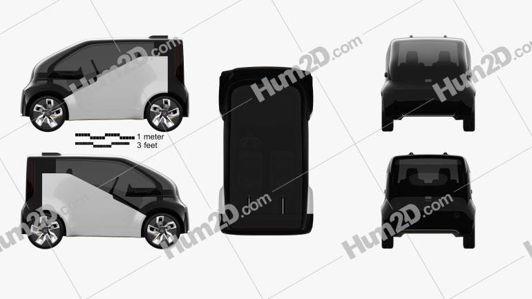 Honda NeuV 2017 car clipart
