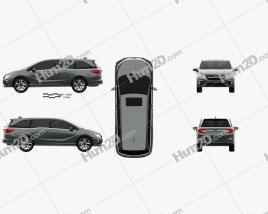 Honda Odyssey Elite 2018 clipart