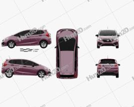 Honda Fit Hybrid S JP-spec 2017