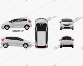 Honda Fit JP-spec 2017