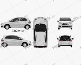 Honda Brio hatchback 2016