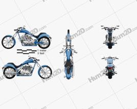 Honda Fury 2017 Motorcycle clipart