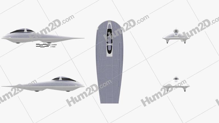 Honda Dream Solar Car 1996 car clipart
