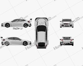 Honda Civic TCR hatchback 2018