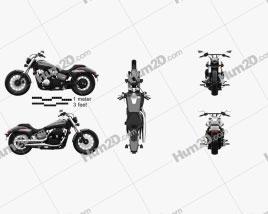 Honda Shadow Phantom 2018