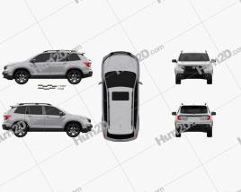 Honda Passport Elite 2019 car clipart