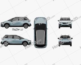 Honda Jazz e:HEV Crosstar 2020