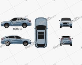 Honda Avancier 2020 car clipart