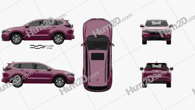 Honda Breeze Sport Turbo 2020 car clipart