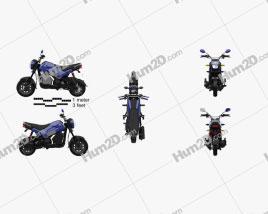 Honda Navi 2020 Motorcycle clipart