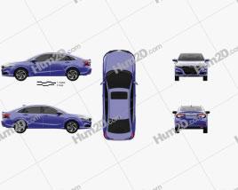 Honda Crider hybrid 2020