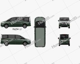 Honda StepWGN Spada eHEV 2021 clipart