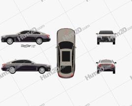 Hongqi H9 2020 car clipart