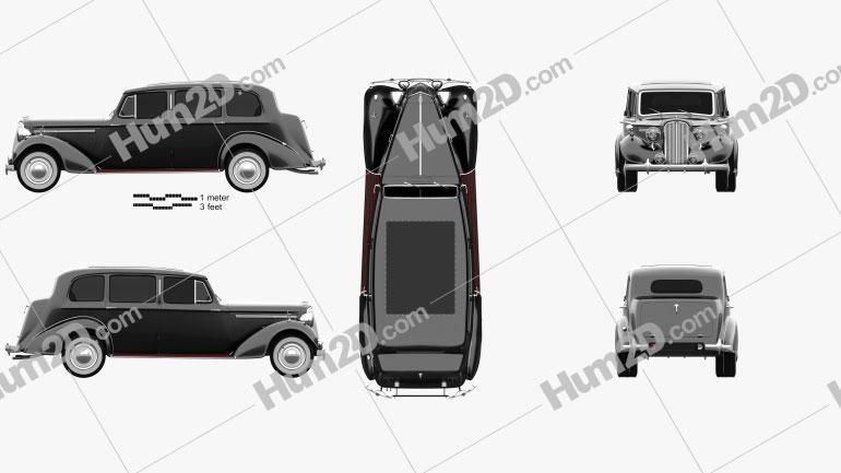Humber Pullman Limousine 1945