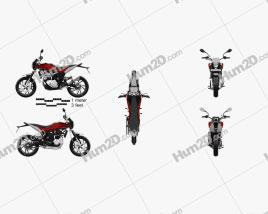 Husqvarna Nuda 900 2012 Motorcycle clipart