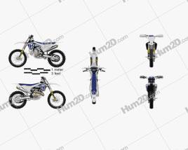 Husqvarna FC 450 2017 Motorrad clipart