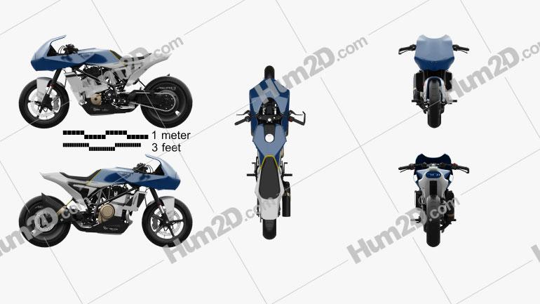 Husqvarna Vitpilen 701 aero 2019 Motorcycle clipart