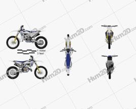 Husqvarna TC 125 2020 Motorcycle clipart